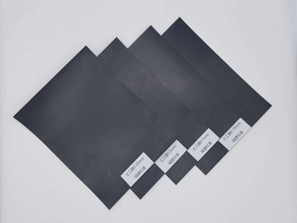 土工膜防水毯是污水调节池理想防渗材料?