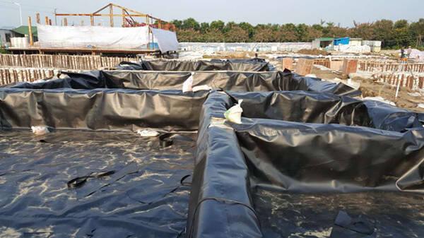 填埋场HDPE土工膜检查漏洞破损方法