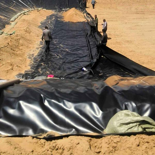 防渗膜护坡选用原则及铺设方式