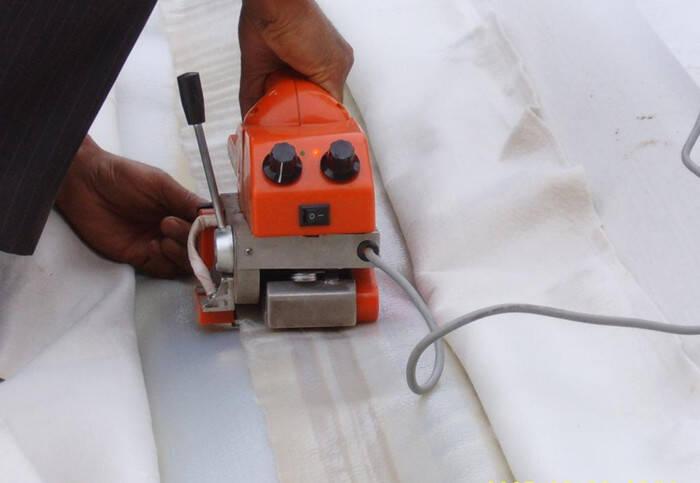 渠道复合土工膜怎么铺设施工和焊接方法